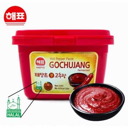 HAEPYO GOCHUJANG HOT PEPPER PASTE 韩式辣酱 辣椒酱 HALAL 500g